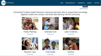 Photo courtesy of mPowering Frontline Health Workers